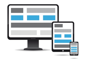 Responsive design for smartphone tablet and computer