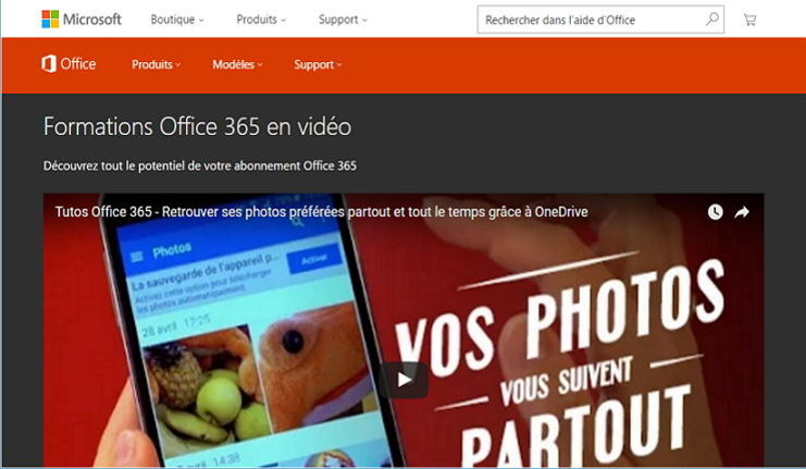 miniature tutos office 365